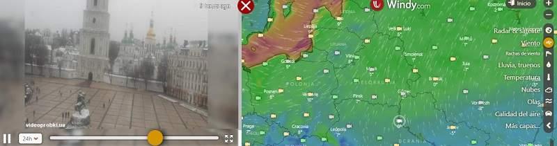 Click for Kyiv, Ukraine Forecast and Webcams